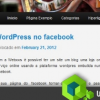 WordPress no facebook