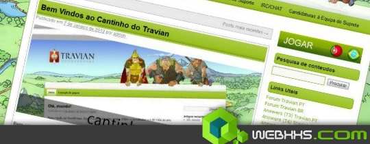 Tema wordpress travian